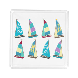 Vintage Dinghies Acrylic Tray