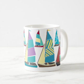 Vintage Dinghies Coffee Mug