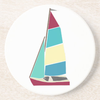 Vintage Dinghy Coaster