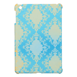 Vintage Distressed Damask Cover For The iPad Mini
