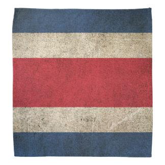 Vintage Distressed Flag of Costa Rica Kerchiefs