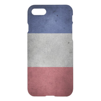 Vintage Distressed Flag of France iPhone 8/7 Case
