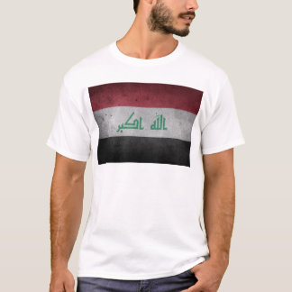 Vintage Distressed Flag of Iraq T-Shirt