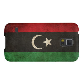 Vintage Distressed Flag of Libya Galaxy S5 Cover