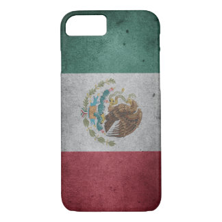 Vintage Distressed Flag of Mexico iPhone 8/7 Case