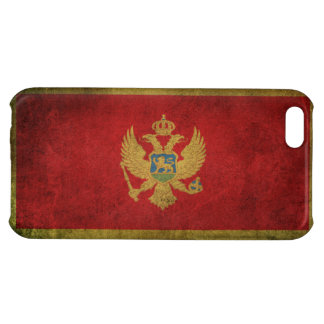 Vintage Distressed Flag of Montenegro iPhone 5C Covers