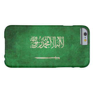 Vintage Distressed Flag of Saudi Arabia Barely There iPhone 6 Case