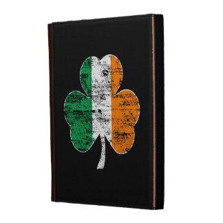 Vintage Distressed Irish Flag Shamrock iPad Case