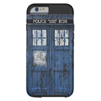 Vintage Distressed Public Call Box iPhone 6 case Tough iPhone 6 Case