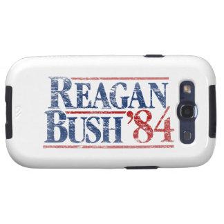 Vintage Distressed Reagan Bush '84 Samsung Galaxy S3 Covers