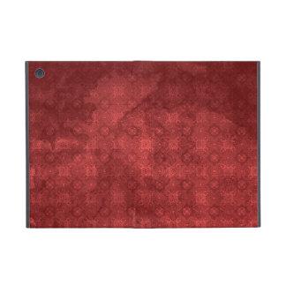 Vintage Distressed Red Pattern iPad Mini Cover