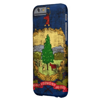 Vintage Distressed Vermont State Flag Barely There iPhone 6 Case