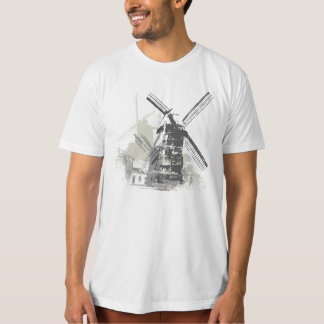 Vintage Distressed Wind Wheel Mill Tshirt