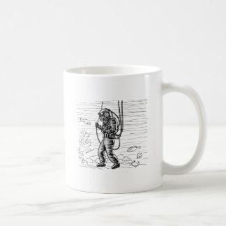Vintage Diver - ocean diving suit Coffee Mug