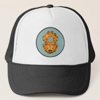 Vintage Diving Bell Trucker Hat