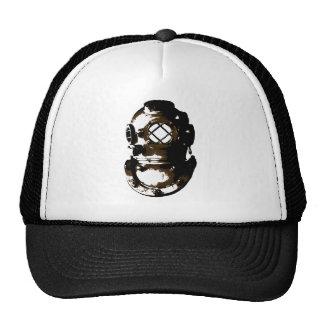 vintage diving helmet scuba beach ocean unique fun cap