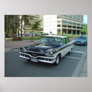 Vintage Dodge Car Poster