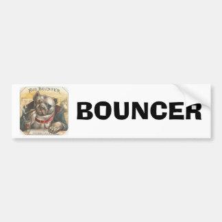 Vintage Dog Bouncer Bar Bumper Stickers