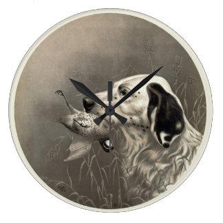 Vintage Dog Clock