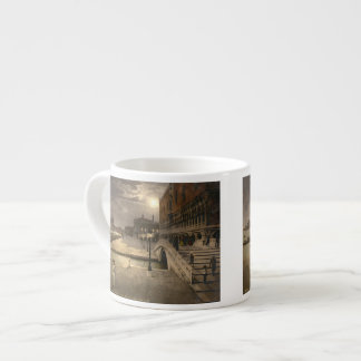 Vintage Doge's Palace by Moonlight, Venice, Italy Espresso Cup