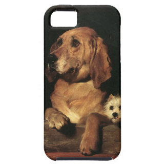 Vintage Dogs Best Friends iPhone 5 Covers