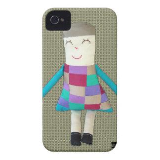 Vintage Doll Ashley iPhone 4 Case-Mate Case