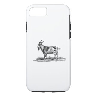 Vintage Domestic Goat Illustration -1800's Goats iPhone 8/7 Case