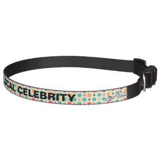 Vintage Dots Pet Collar
