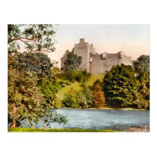 Vintage Doune Castle Scotland Postcard