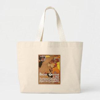 Vintage Dover Ostend Line Canvas Bag