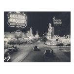 Vintage Downtown Las Vegas Post Card