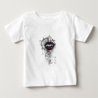 vintage dracula lips baby T-Shirt