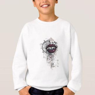 vintage dracula lips sweatshirt