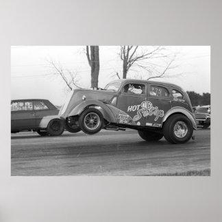 Vintage Drag - Malco Hot Setup Gasser Poster