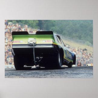 Vintage Drag - Monza Funny Car Poster