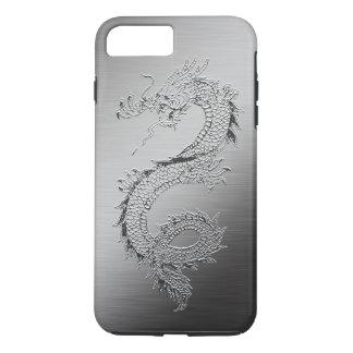 Vintage Dragon Brushed Metal Look iPhone 8 Plus/7 Plus Case