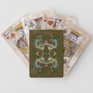 Vintage Dragon Play Cards