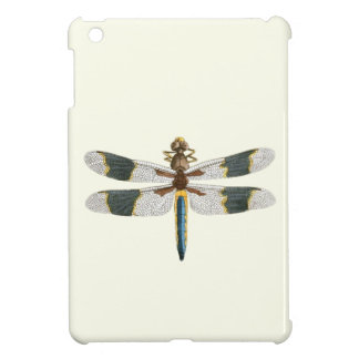 Vintage Dragonfly Drawing Antique Insect Artwork iPad Mini Cover
