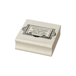 Vintage Drawer Pull Address Stamp