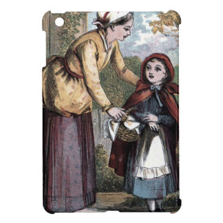 Vintage Drawing: Little Red Ridinghood Cover For The iPad Mini