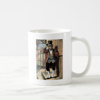 Vintage Drawing: Monkey in a Suit Coffee Mug