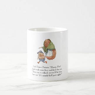 Vintage Drawing Poem Potato Kids Rhyme Cute Food Coffee Mug