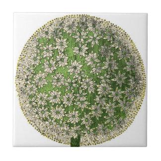 """""""Vintage Dreams"""" - Dandelion Small Square Tile"""