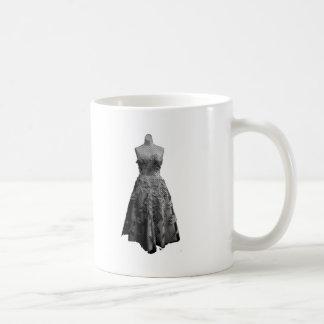 Vintage Dress 2 Basic White Mug