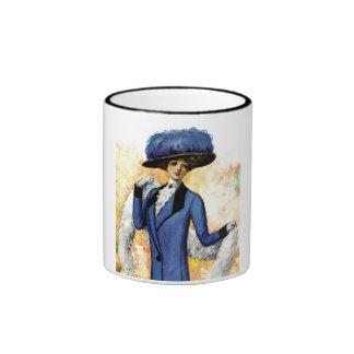 Vintage Dress Coffee Mugs