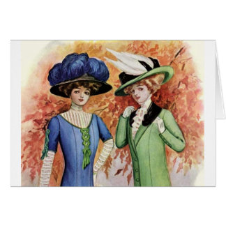 Vintage Dresses Card