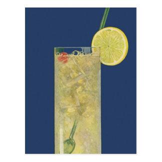 Vintage Drinks Beverages Lemonade or Fruit Soda Post Card