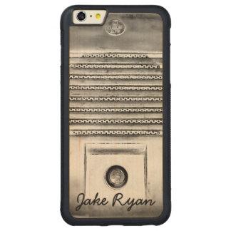 Vintage Drive-In Speaker iPhone Wood Case