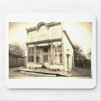 Vintage Dry Goods Building Mouse Pad