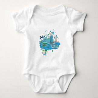 vintage dubai us e design baby bodysuit